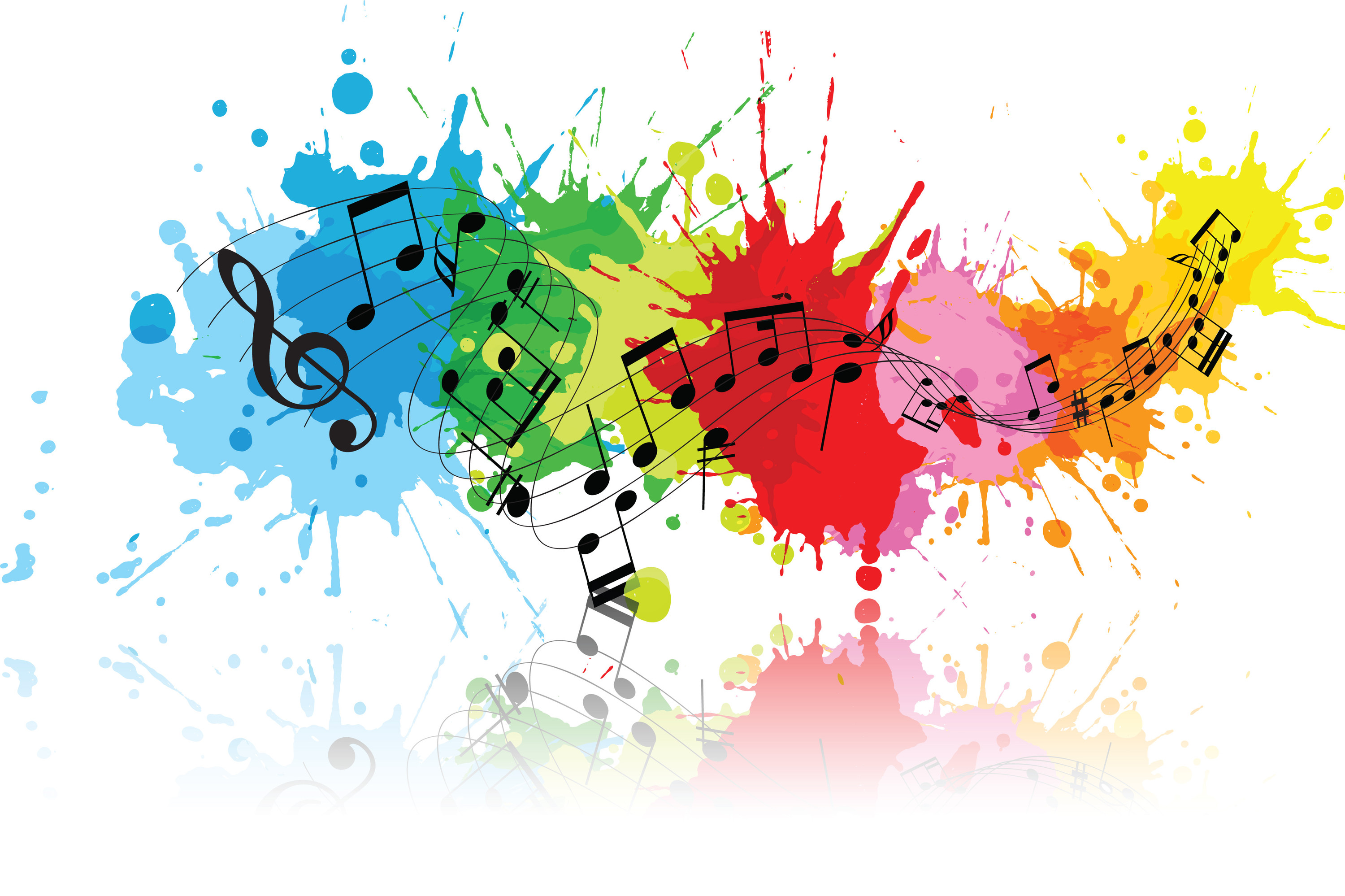 Music Colour Splash